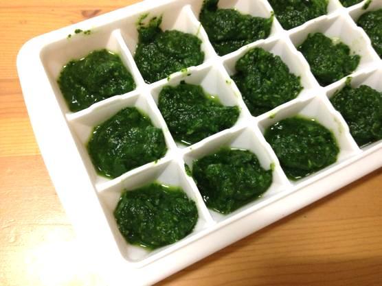 離乳食 小松菜48