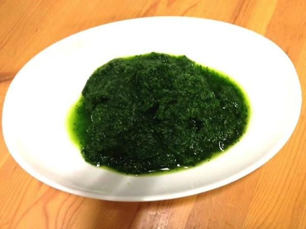 離乳食 小松菜46