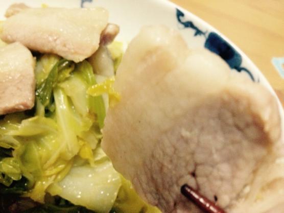 豚肉 キャベツ レシピIMG 6597