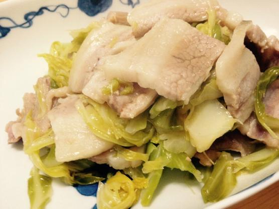 豚肉 キャベツ レシピIMG 6591