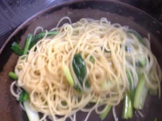 小松菜 パスタ レシピIMG 8742