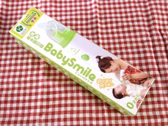 写真レビュー!赤ちゃんの鼻水に電動鼻水吸引器ベビースマイルを買いました!