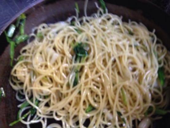 大根の葉 レシピ パスタIMG 9085