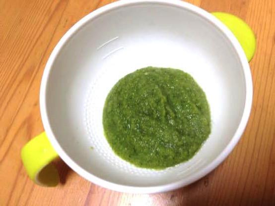 離乳食レシピでブロッコリーをペーストにしたら初期からパクパク!赤ちゃんの健康な体作りに!