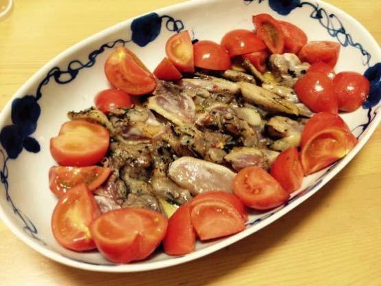鶏タタキ レシピIMG 9872