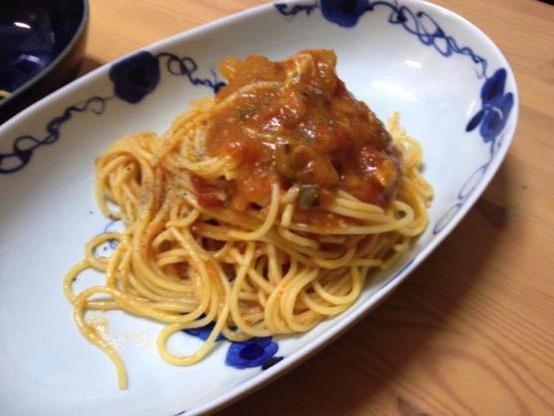 ズッキーニ パスタ レシピ IMG 2981