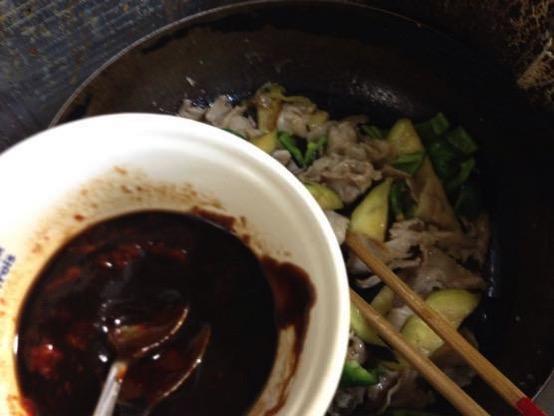 甜麺醤 レシピ 豚肉IMG 4637