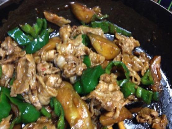 甜麺醤 レシピ 豚肉IMG 4640