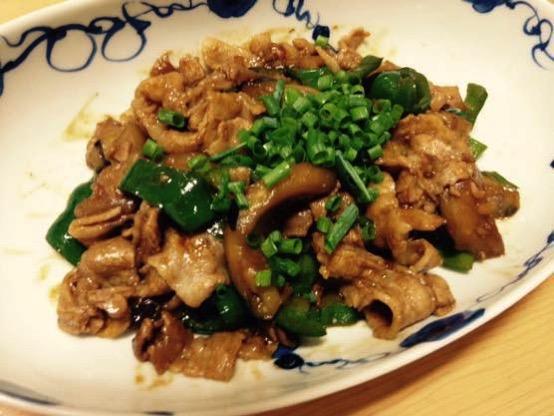 甜麺醤 レシピ 豚肉IMG 4648