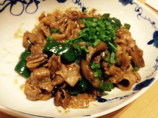 甜麺醤 レシピ 豚肉IMG 4653