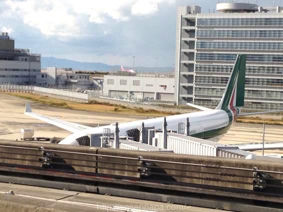 関西国際空港からAZ793で出発!ローマ〜ヴェネツィアまで