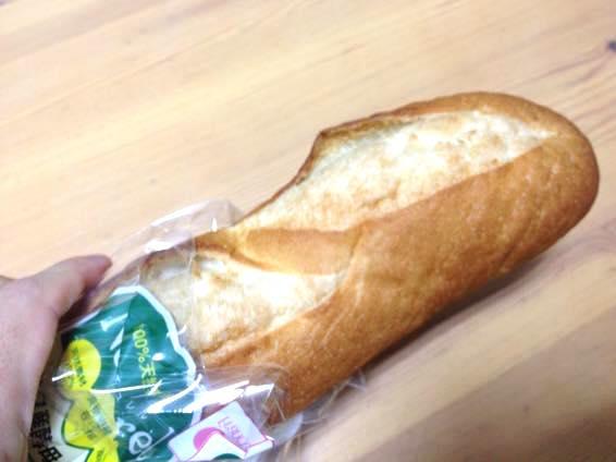 カリッともちもち!ナチュレル フランス産酵母のバゲットがお手軽で旨い!