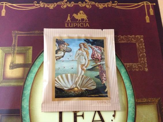 ルピシア ブック オブ ティー ヴィーナスの誕生 IMG 5596