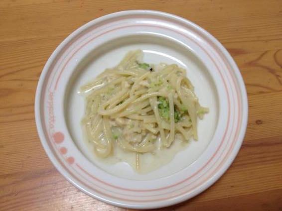 幼児食 パスタ レシピ 簡単 ブロッコリーIMG 9469