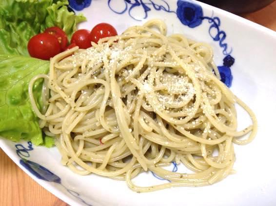 パクチー ジェノベーゼ パクチーぜ レシピ IMG 0630