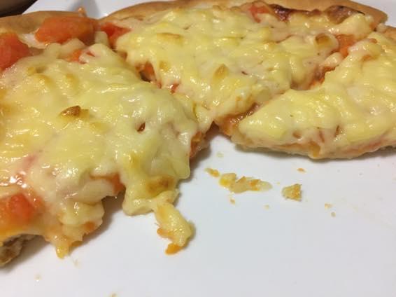 幼児食 ピザ レシピ 2歳  IMG 4029