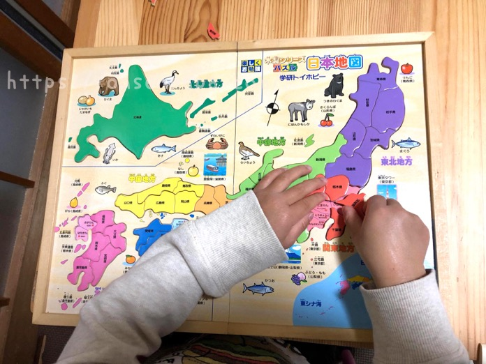 パズル 日本地図 4歳 IMG 4811