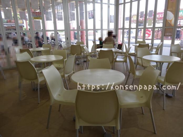 ハーモニーランド ハッピーカフェ  混雑状況 DSC02025 2