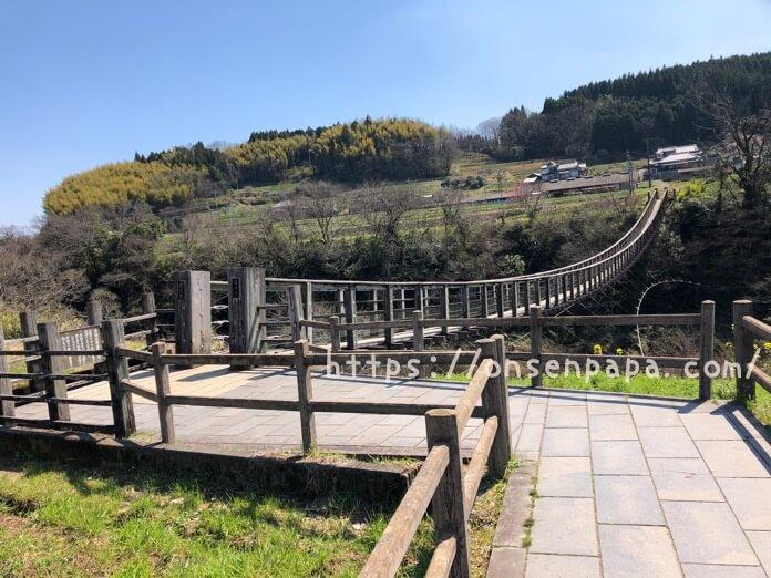 原尻の滝 吊橋 ブログ IMG 2859