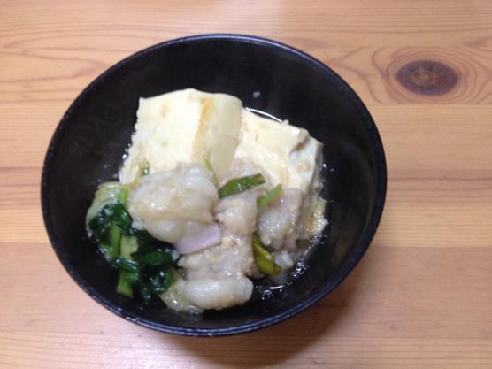 もつ鍋 レシピ1