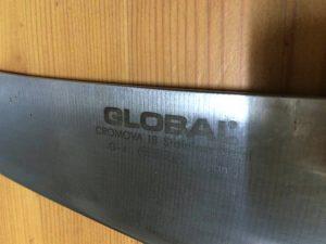 プレゼントに包丁?GLOBALがスタイリッシュで切れ味抜群!