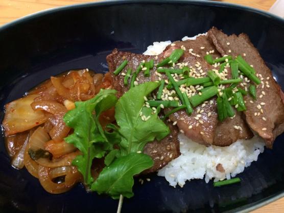 焼き肉丼レシピ32