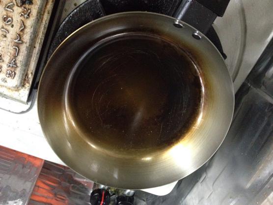 鉄 フライパン 油返し800