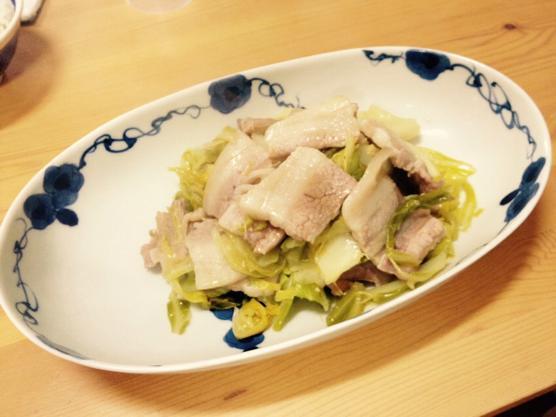 豚肉 キャベツ レシピIMG 6588
