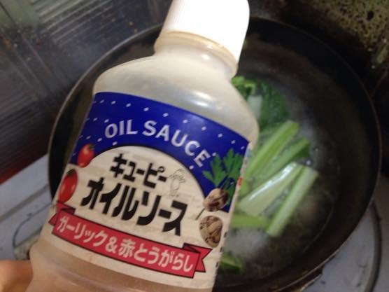 小松菜 パスタ レシピIMG 8735