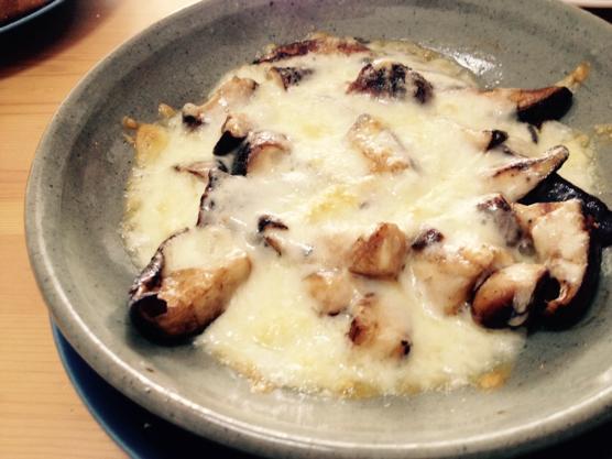 しいたけ チーズ レシピIMG 7137