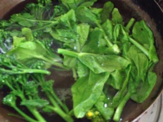 春野菜 パスタ レシピIMG 8376