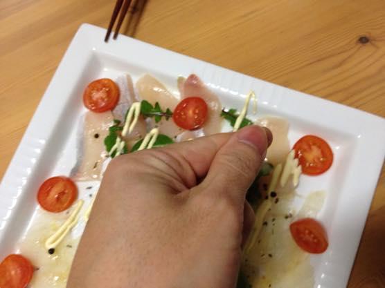カルパッチョ レシピ かんたん IMG 7337