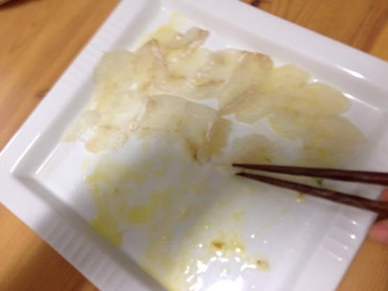 カルパッチョ レシピ かんたん IMG 7292