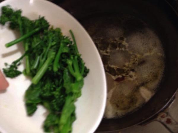 春野菜 パスタ レシピIMG 8389