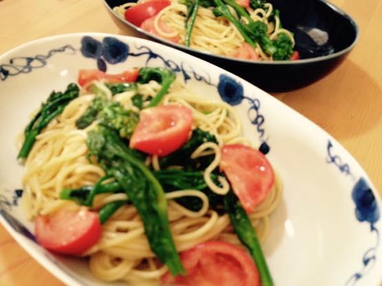 春野菜 パスタ レシピIMG 8427