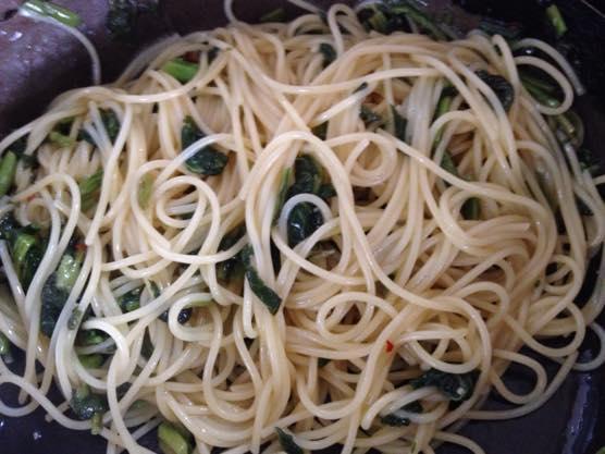 高菜パスタ レシピIMG 8321