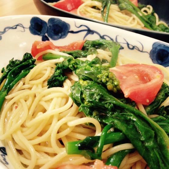 春野菜 パスタ レシピIMG 8412