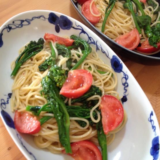 春野菜 パスタ レシピIMG 8404