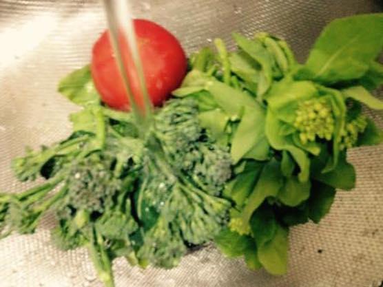 春野菜 パスタ レシピIMG 8364