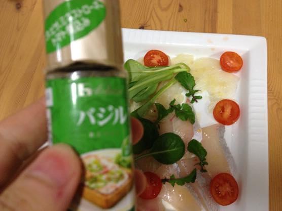 カルパッチョ レシピ かんたん IMG 7309