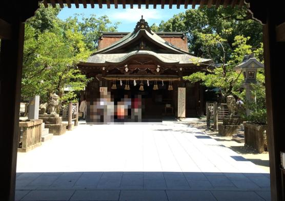 妊娠 不妊 宇美神社IMG 7627