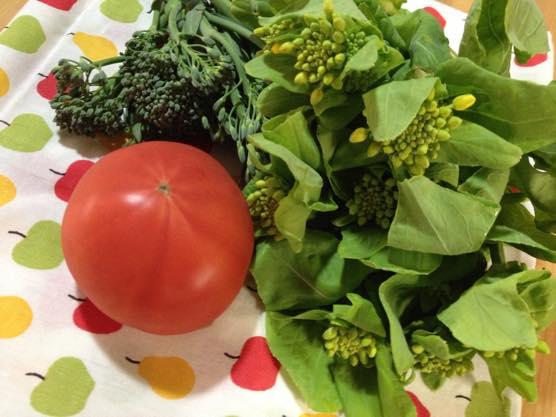 春野菜 パスタ レシピIMG 8352