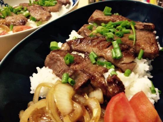 焼き肉丼 レシピIMG 9897