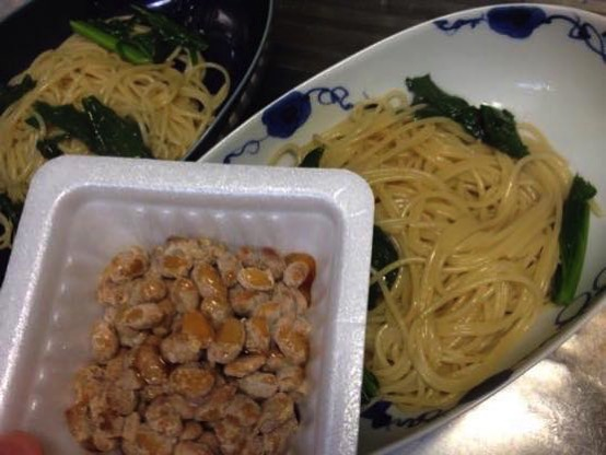 わさび菜 レシピIMG 0187