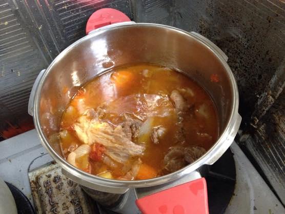 圧力鍋 カレー レシピIMG 8892