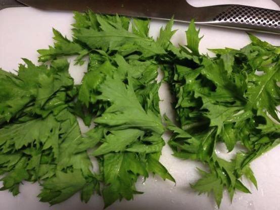 わさび菜 レシピIMG 0169