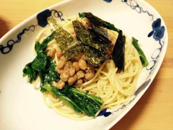 わさび菜 レシピIMG 0202