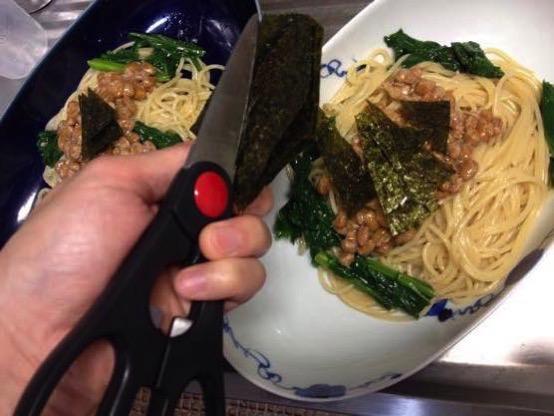 わさび菜 レシピIMG 0195