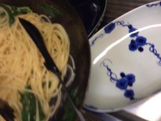 わさび菜 レシピIMG 0184