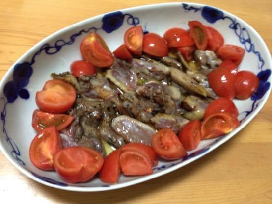 鶏タタキ レシピIMG 9868